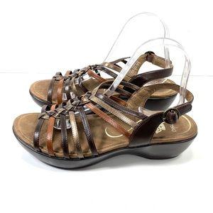 Dansko Brown Women's Sandals